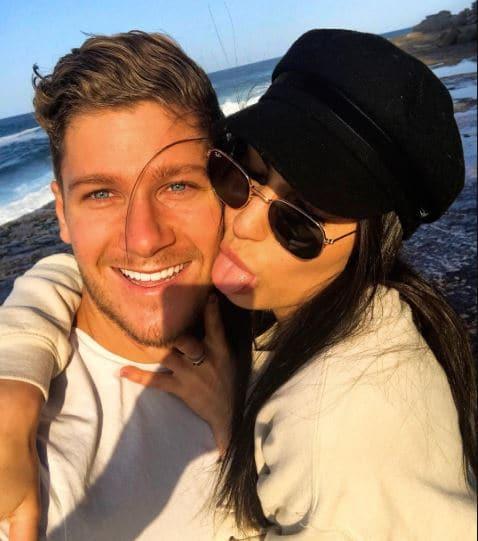 Dom Thomas ex-girlfriend