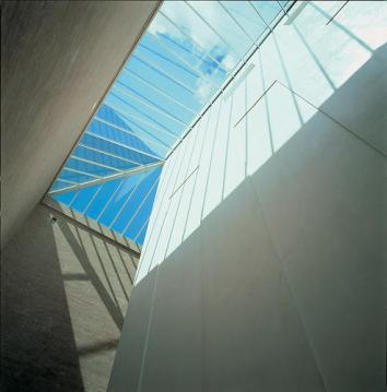 Ny Carlsberg Glyptotek Addition, Copenhagen Denmark, 1996, by Henning Larsen.