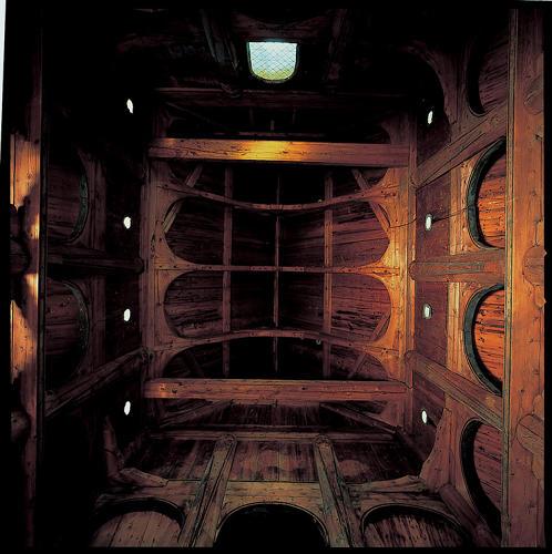 Borgund Stave Church, Norway, 12th century.