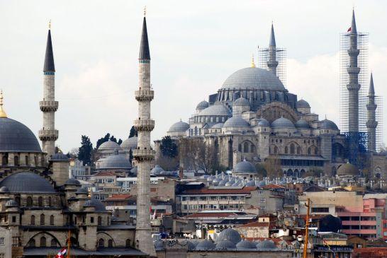 Süleymaniye Camii architect: Mimar Sinan