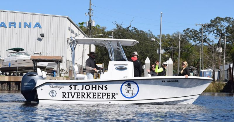 The St. Johns Riverkeeper boat