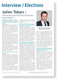 Interview de Julien Tokarz - La Profession Comptable N°404 - Octobre 2016