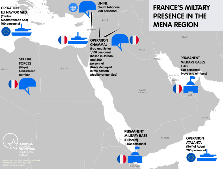 Alone in the desert? How France can lead Europe in the Middle East –  European Council on Foreign Relations