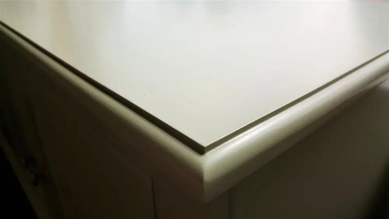 18mm Thick Painted Moulded Top To Match The Piece Of Furniture