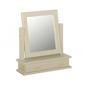 Lundy Painted Single Mirror & Drawer.. various colours available LM07