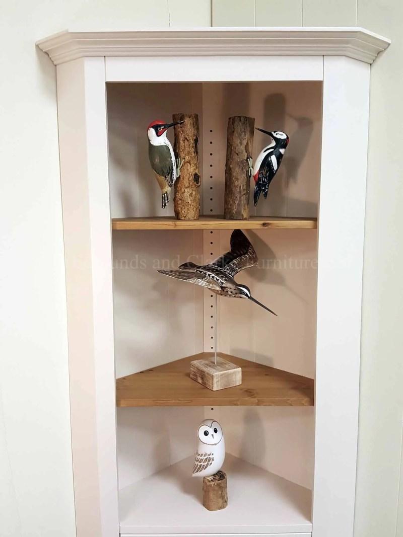 Edmunds slim corner cupboard