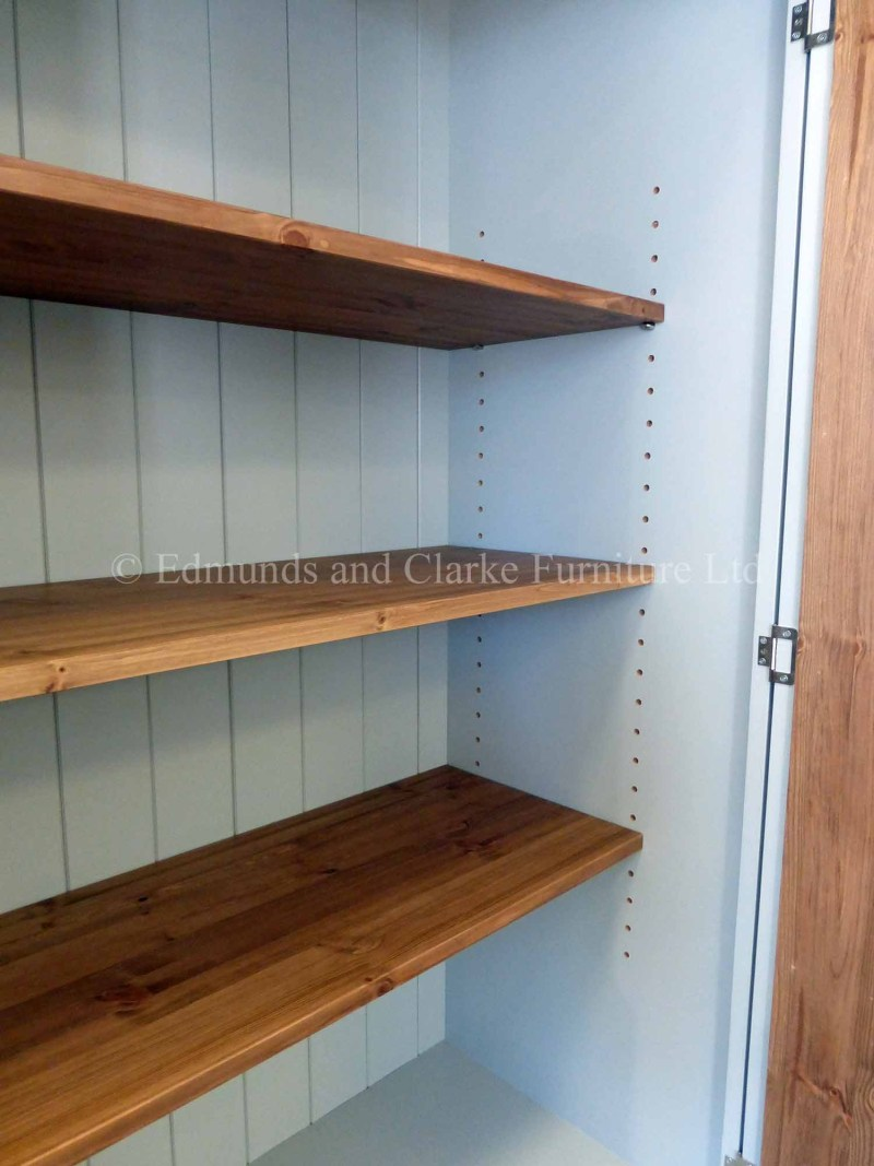 Larder cupboard painted in a choice of colours