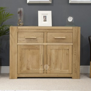 Newmarket medium two door and drawer sideboard heavy chunky design