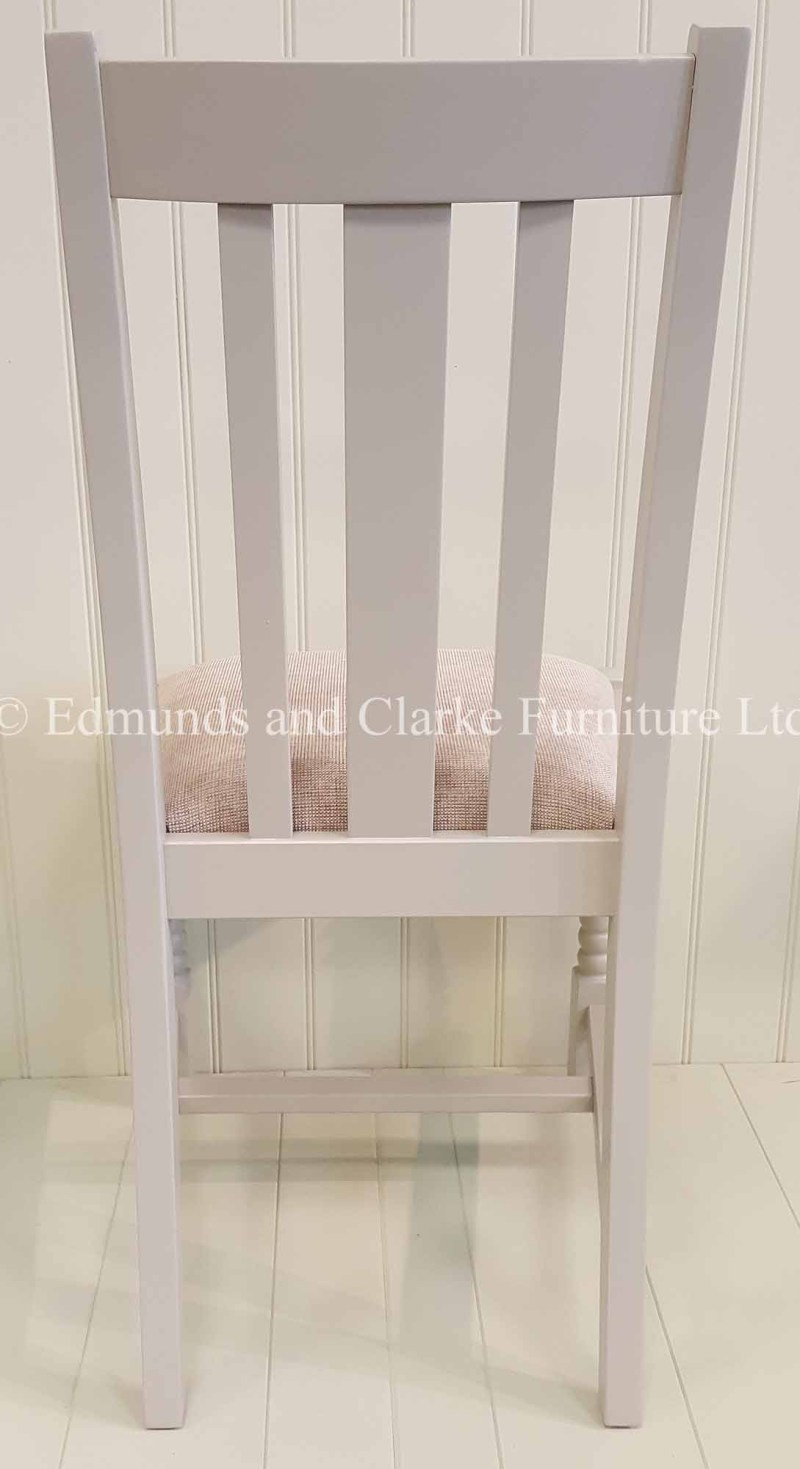 Tudor style painted dining chair