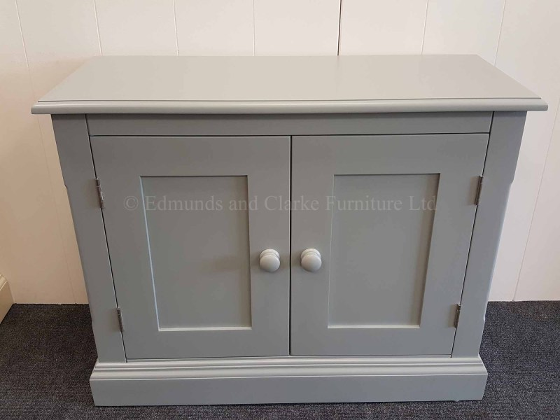 Edmunds two door low cupboard painted all over