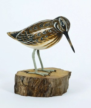 Archipelago Jack Snipe Wood Carving