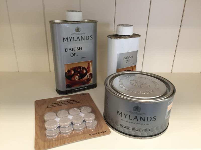 Edmunds & Clarke Furniture Ltd Furniture Care Multi including Mylands Wax Polish, Mylands Danish Oil, Floor protectors