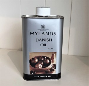 Tin of Mylands Danish Oil 500ml