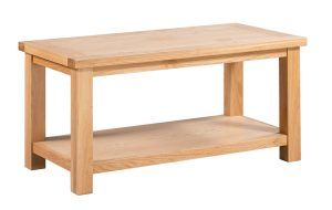 DOR070 Large coffee table with shelf underneath