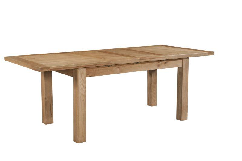 Dorset oak DOR094 dining table 132-198