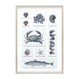 AMS00113 Coastal Art Framed art