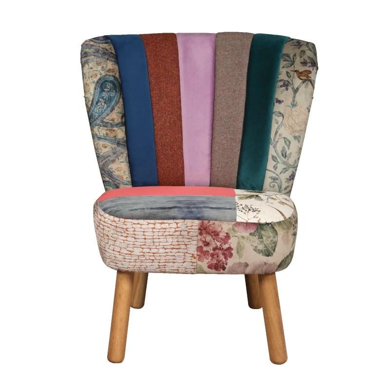 Belton chair patchwork