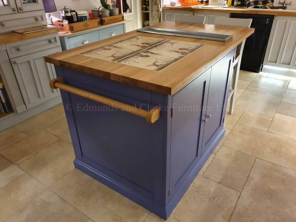 Kitchen Island with storage and seating