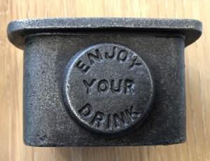 bottle Cap catcher iron