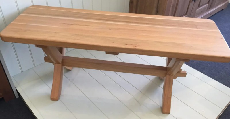 X leg bench 4ft