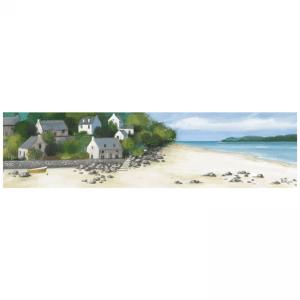 On the beach canvas canva