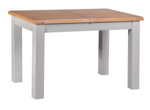DIASMEXT diamond painted small extending dining table showing closed