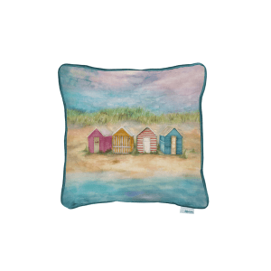 C200351 voyage maison BEACH HUT SUNRISE cushion 43X43