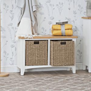 GA-HB-W Weybourne hallway unit with baskets