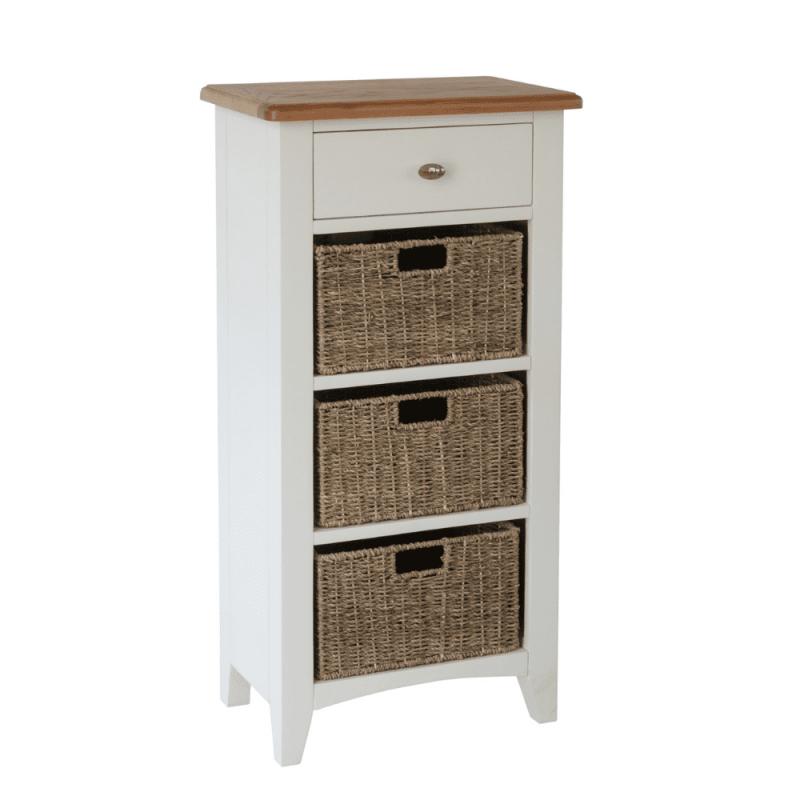 Weybourne 1 drawer 3 basket unit v1