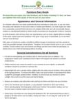 Edmunds & Clarke Furniture Care Guide