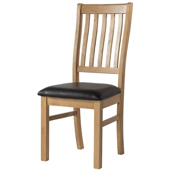 BFO070 Burford oak dining chair