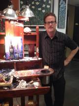 """Michael Flohr visits Las Vegas for his show, """"Night on the Town"""" at The Forum Shops"""