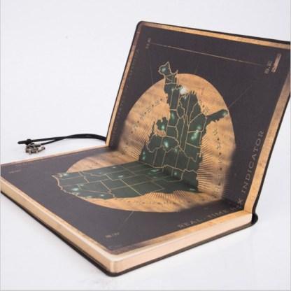 Pirate Captains Log Book - Black v2