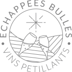 Logo Echappées Bulles Golden Grey