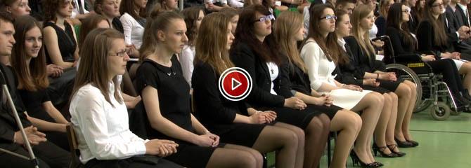 Wolsztyn - zakończenie roku szkolnego klas maturalnych wolsztyńskiego Liceum