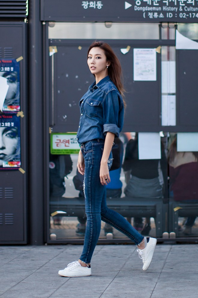 On the street… Jang Naeri Seoul fashion week 2016 SS