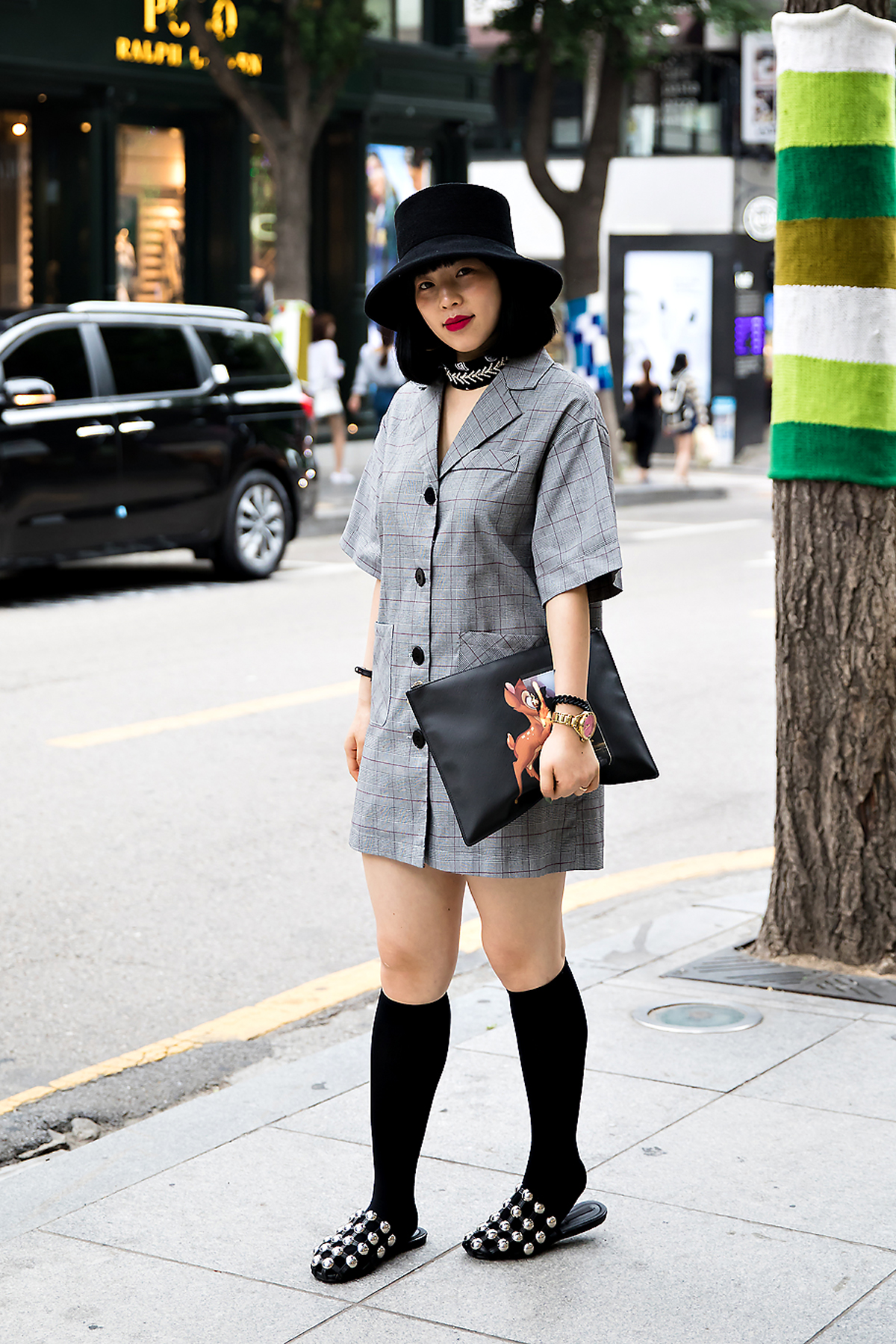 Maomao, Street Fashion 2017 in Seoul