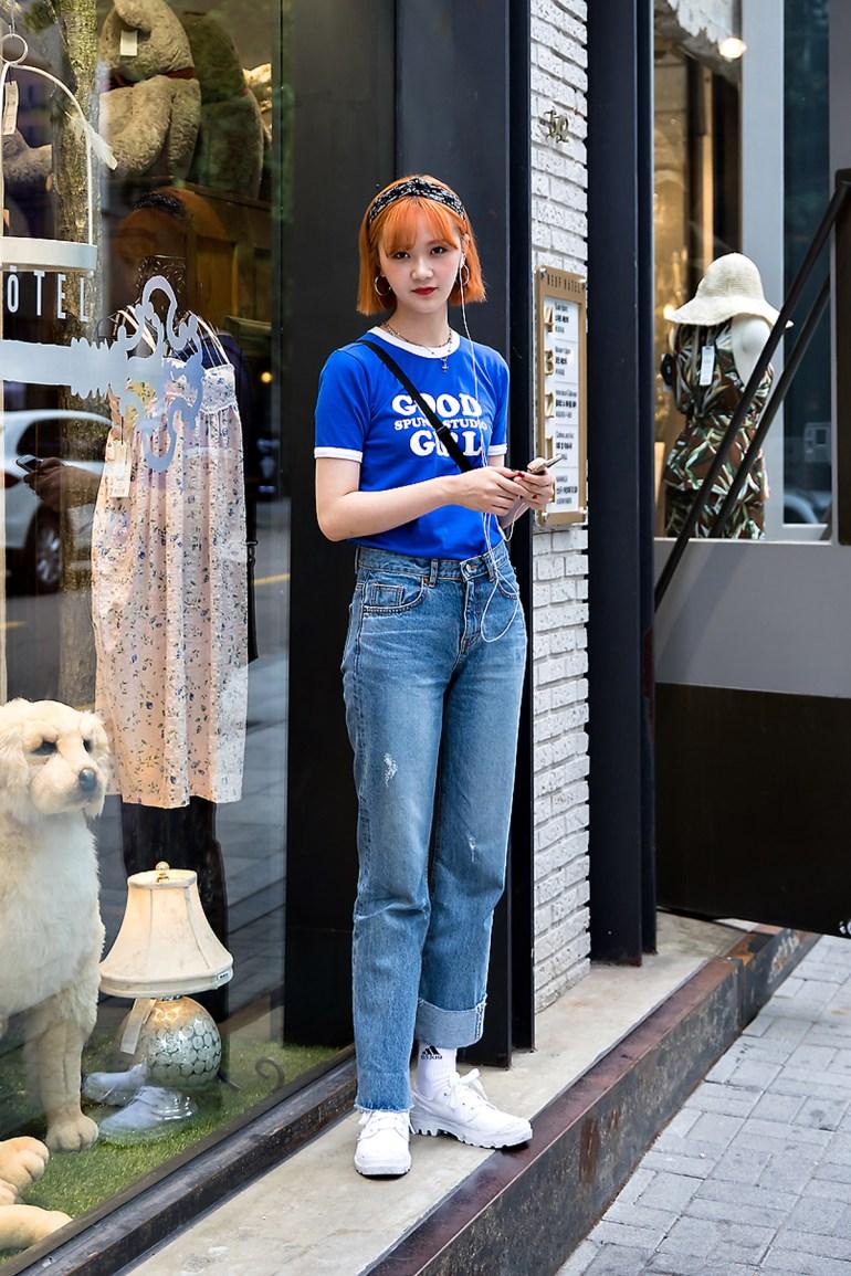 Yoo Chaerim, Street Fashion 2017 in Seoul.jpg