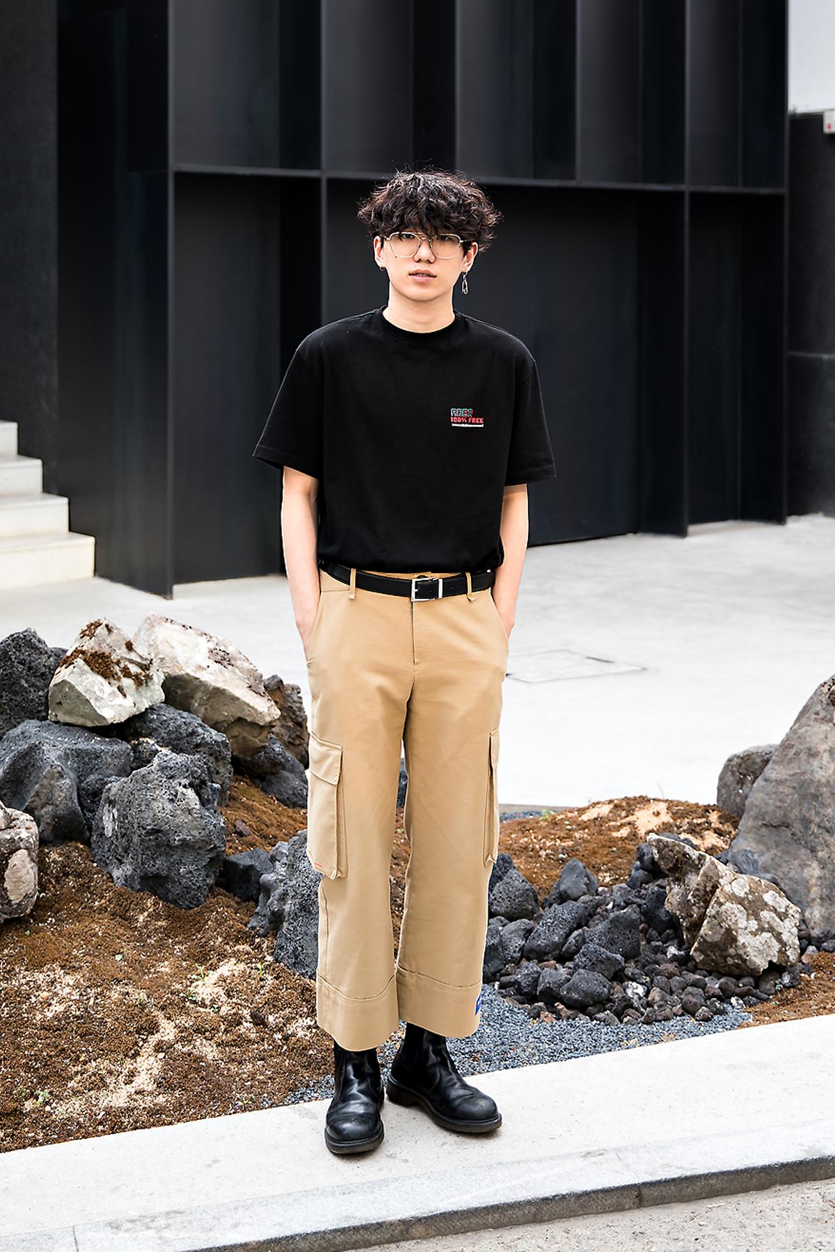 Yoo Hanrim, Street Fashion 2017 in Seoul