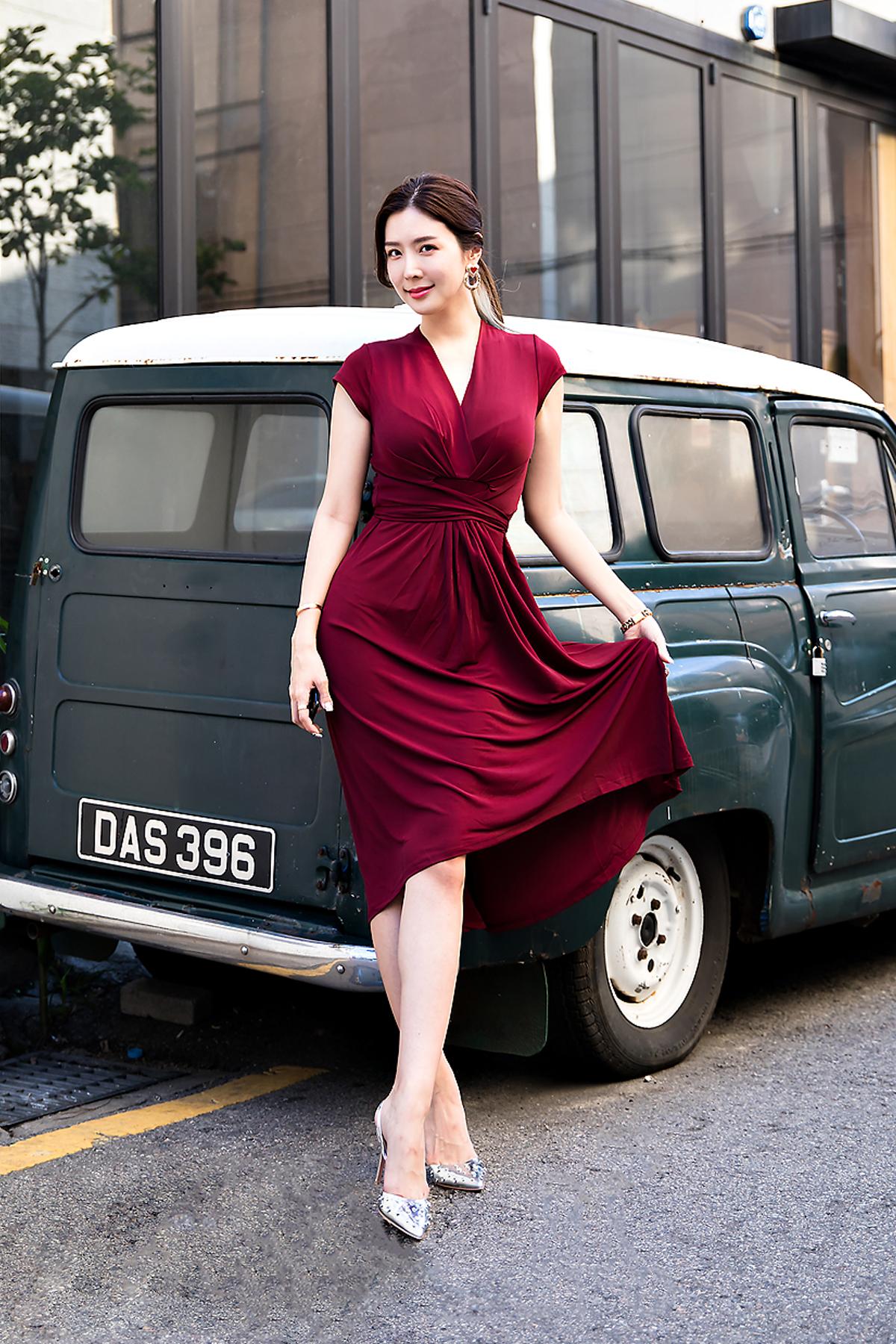 Choi Yujin, Street Fashion 2017 in Seoul