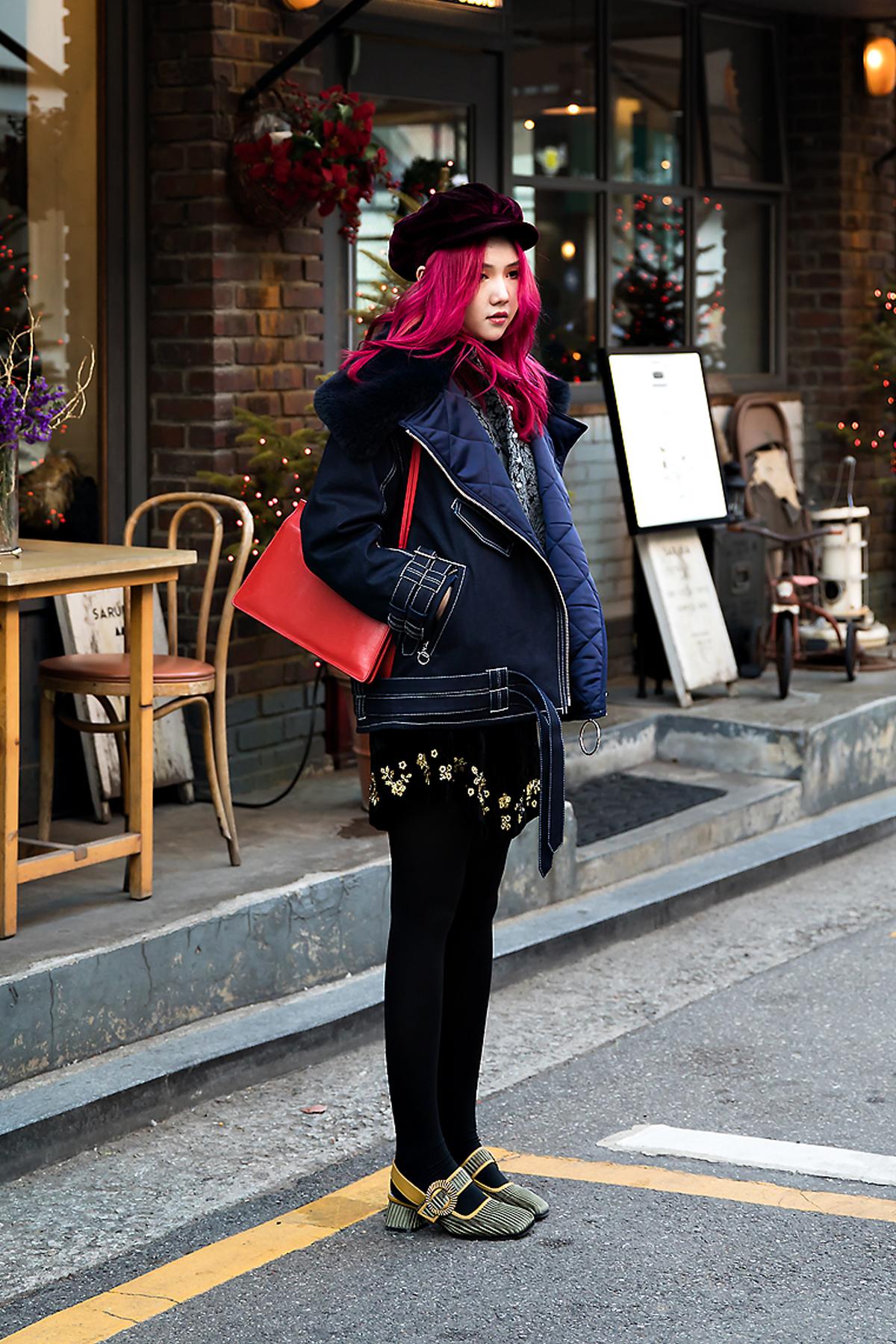 Chloe lam, Street style women winter 2017 inseoul