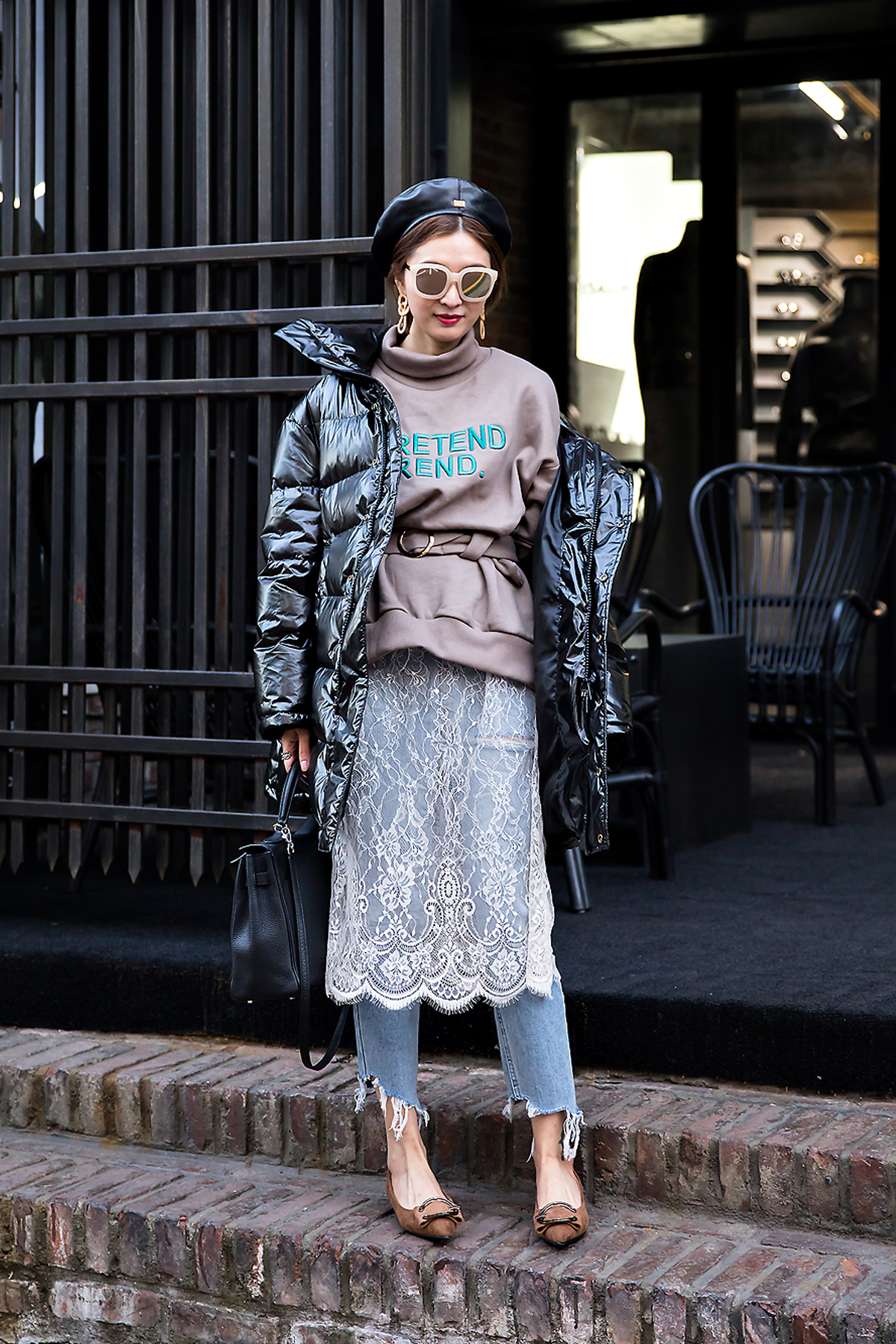 Cunthia, Street style women winter 2017 inseoul