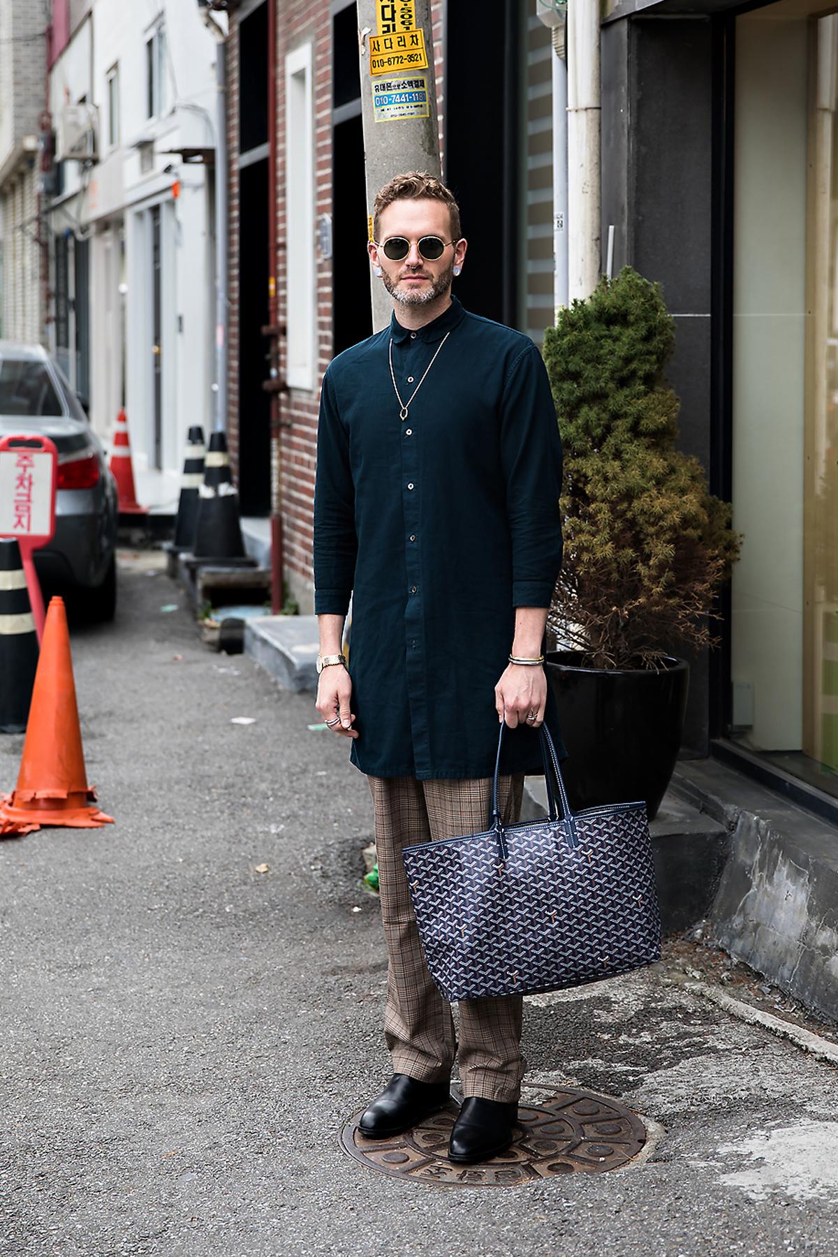 JeremyHurst, Street style men winter 2017 inseoul