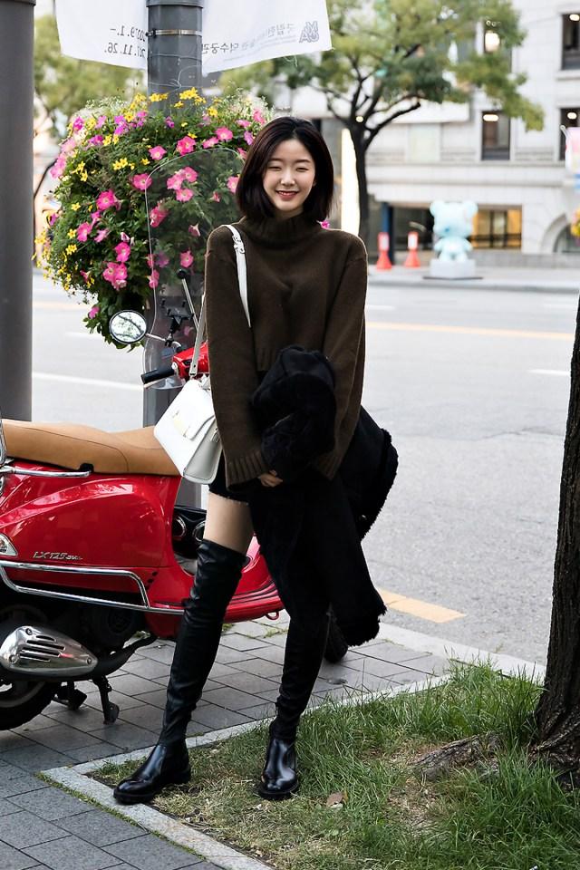Kwak Jisoo, Street style women fall 2017 inseoul