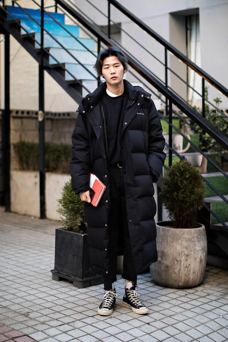 Lee Jaesung, Street style men winter 2017-2018 inseoul