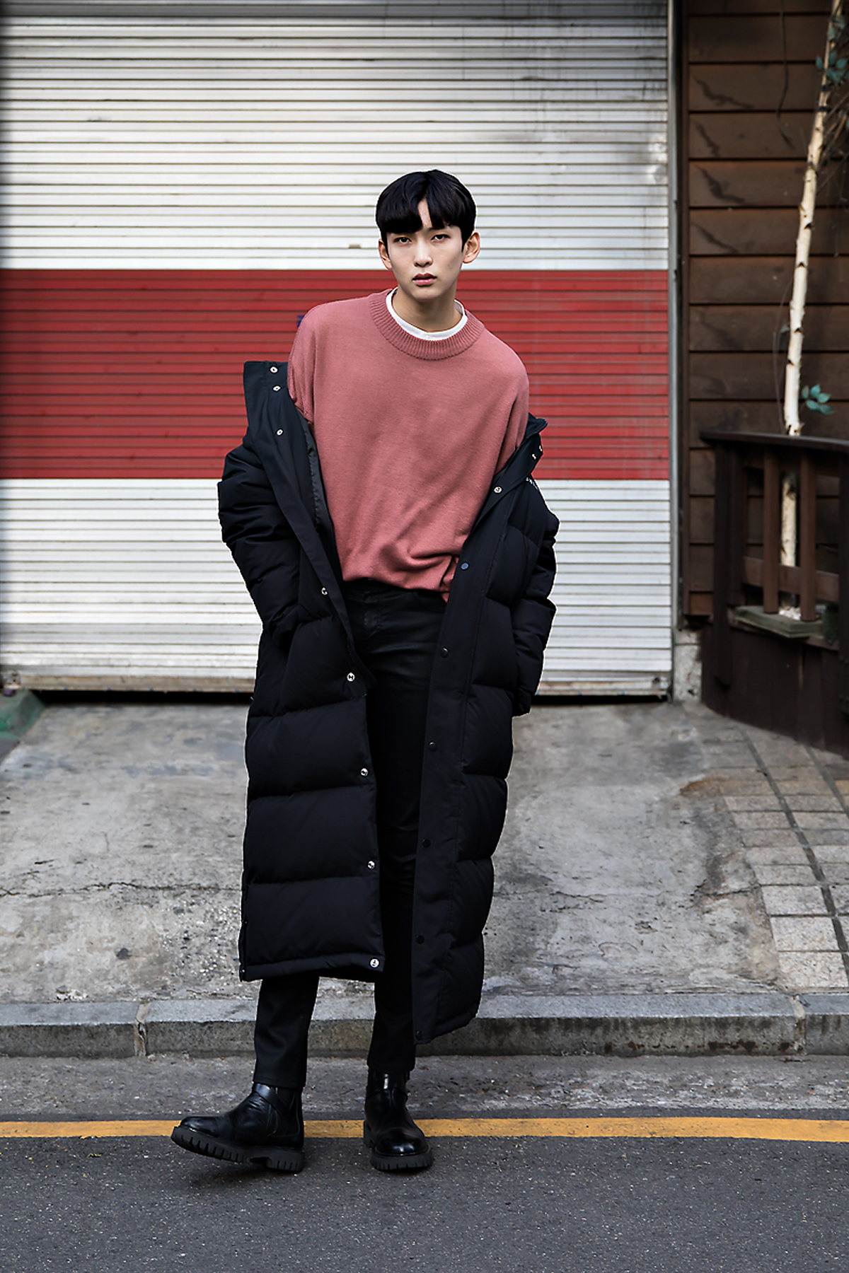Moon Kanghyuk, Street style men winter 2017 inseoul