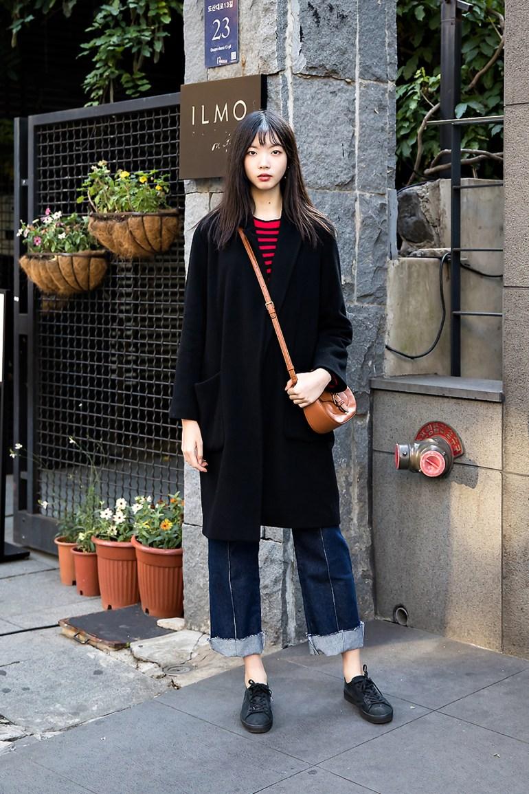 Son Jimin, Street style women winter 2017 inseoul