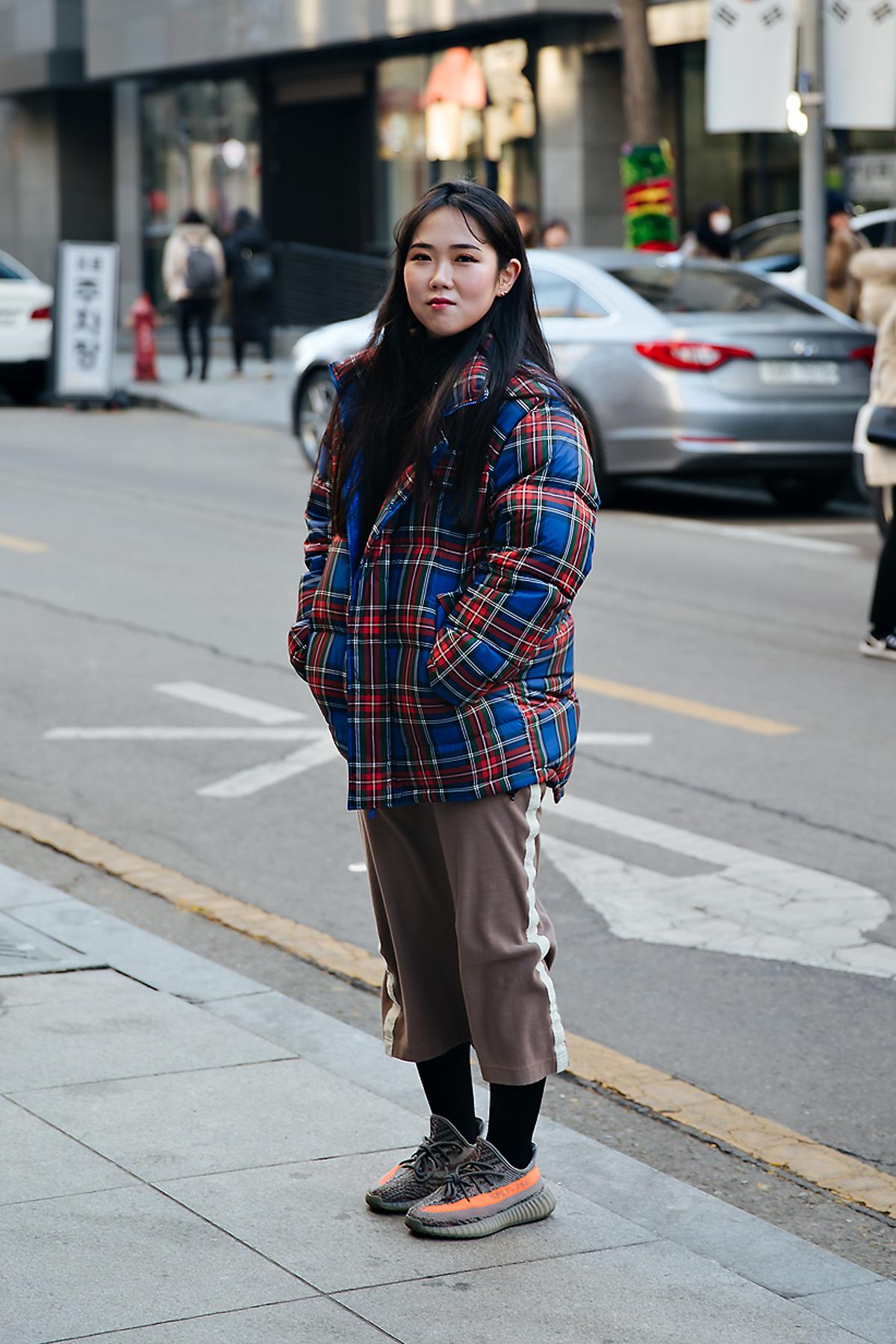 An Sohee, Street style women winter 2017-2018 inseoul