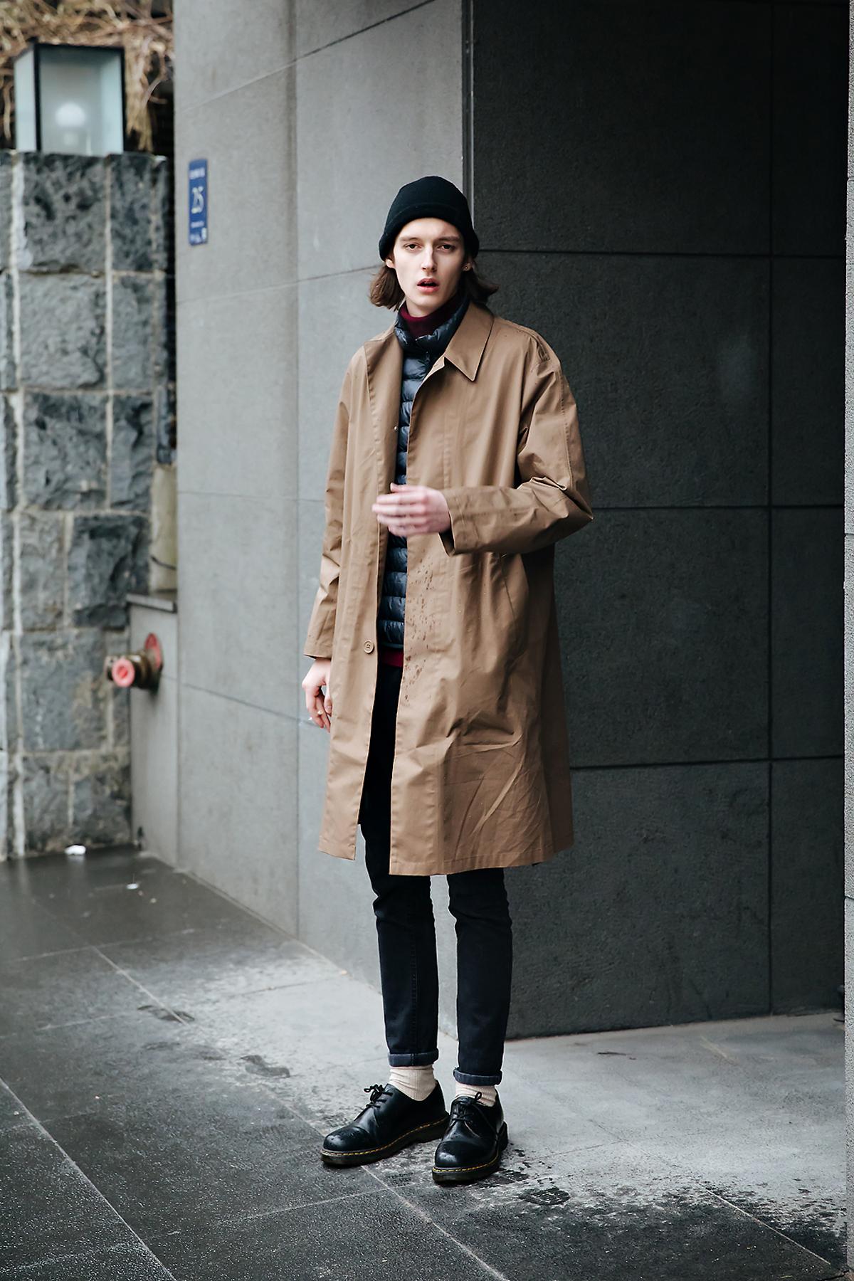 Arthur, Street style men winter 2017-2018 inseoul