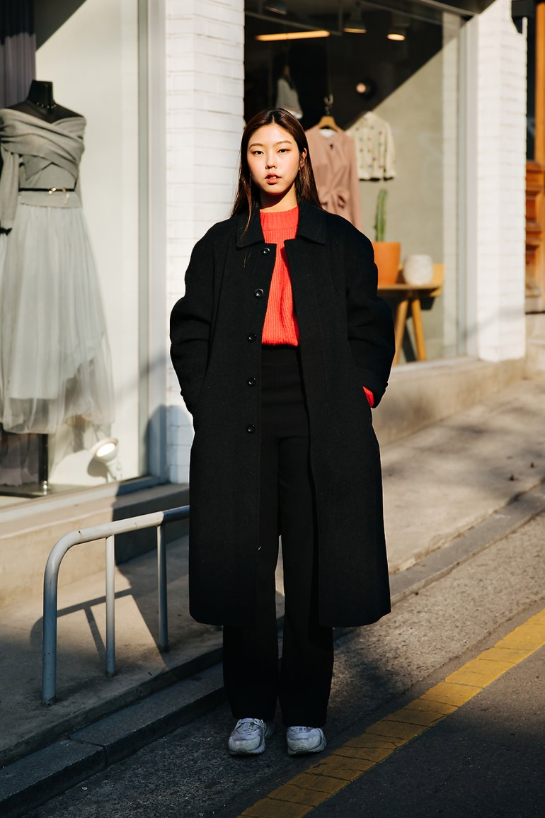 Kim Songwoon, Street style women winter 2017-2018 in seoul